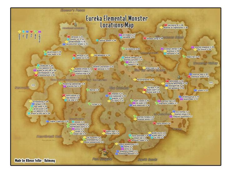 Eureka map